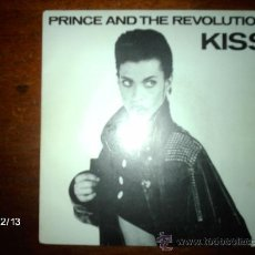 Discos de vinilo: PRINCE AND THE REVOLUTION - KISS + LOVE OR $ . Lote 35886657