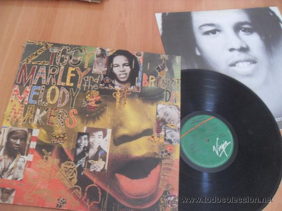 ZIGGY MARLEY LP MELODY MAKERS MADE IN SPAIN 1989 (Música - Discos - LP Vinilo - Reggae - Ska)