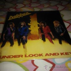 Discos de vinilo: LP HEAVY 1985 - DOKKEN - UNDER LOCK AND KEY - VINILO JAPONÉS. Lote 35811304