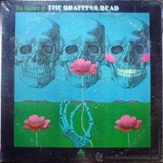 Discos de vinilo: GRATEFUL DEAD. THE HISTORY OF GRATEFUL DEAD. MGM-PRIDE, USA 1972 LP. Lote 35818196