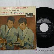 Discos de vinilo: VINILO EP - LOS BLUE DIAMONDS CANTAN EN ESPAÑOL - RAMONA + 3 MÁS - FONTANA DEPOSITO 1961. Lote 35852115