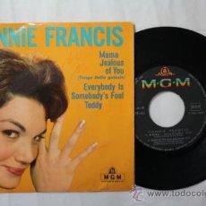 Discos de vinilo: VINILO EP CONNIE FRANCIS - MAMA + 3 CANCIONES MÁS- MGM FRANCIA . Lote 35853945