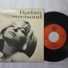 Discos de vinilo: VINILO EP BARBARA STREISAND - MY MAN + 3 CANCIONES MÁS - CBS DISCOPHON ESPAÑA DEPOSITO 1966. Lote 35854117