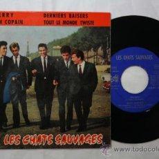 Discos de vinilo: VINILO EP LES CHATS SAUVAGES - SHERRY/ MON COPAIN + 2 MÁS - PATHE ESPAÑA DEPOSITO1963. Lote 35857943