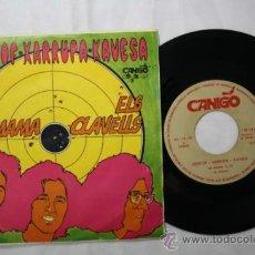 Discos de vinilo: SINGLE CRISTOF XARRUPA KAVESA - LA MAMA/ ELS CLAVELLS - CANIGO DEPOSITO 1971. Lote 35858017