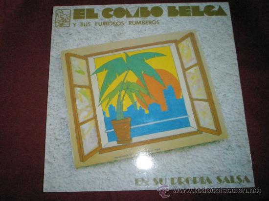 LP-EL COMBO BELGA Y SUS FURIOSOS RUMBEROS-8 CANCIONES-ABUSADORA-SALSA DEL FORO. (Música - Discos - LP Vinilo - Grupos y Solistas de latinoamérica)