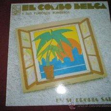 Discos de vinilo: LP-EL COMBO BELGA Y SUS FURIOSOS RUMBEROS-8 CANCIONES-ABUSADORA-SALSA DEL FORO.. Lote 46855904
