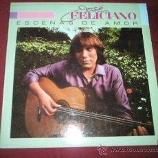 Discos de vinilo: LP-JOSE FELICIANO-ESCENAS DE AMOR-1982-MOTOWN-.. Lote 37017405