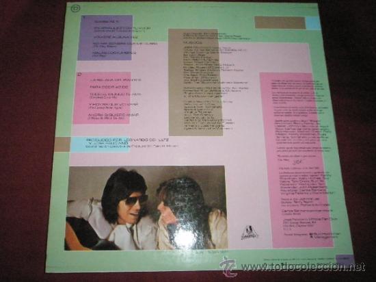 Discos de vinilo: LP-JOSE FELICIANO-ESCENAS DE AMOR-1982-MOTOWN-. - Foto 2 - 37017405
