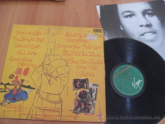 Discos de vinilo: ZIGGY MARLEY LP Melody Makers Made in Spain 1989 - Foto 2 - 35810675
