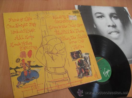 Discos de vinilo: ZIGGY MARLEY LP Melody Makers Made in Spain 1989 - Foto 3 - 35810675