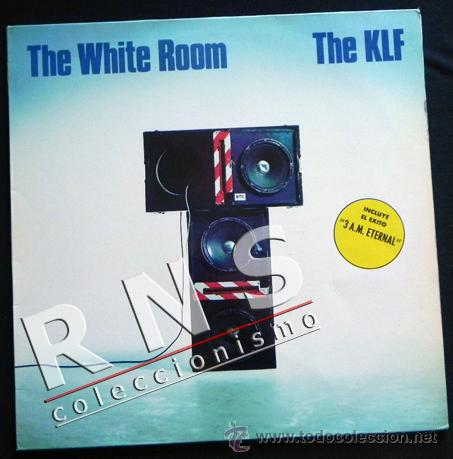 THE WHITE ROOM - THE KLF - DISCO DE VINILO LP - GRUPO BRITÁNICO - MÚSICA TECHNO HOUSE - AÑOS 80 90 (Música - Discos - LP Vinilo - Techno, Trance y House)