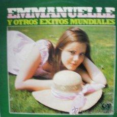 Discos de vinilo: EMMANUELLE Y OTROS EXITOS MUNDIALES. Lote 35821746