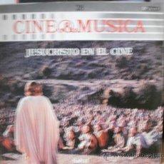 Discos de vinilo: JESUCRISTO EN EL CINE. Lote 35821760