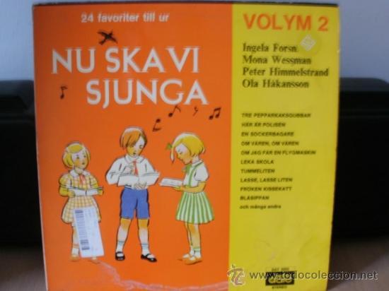 NU SKA VI SJUNGA MUSICA SUECA INFANTIL Y TRADICIONAL (Música - Discos - LPs Vinilo - Música Infantil)