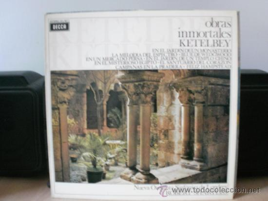 OBRAS INMORTALES KETELBEY (Música - Discos - LP Vinilo - Clásica, Ópera, Zarzuela y Marchas)