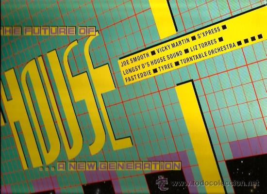 DOBLE LP THE FUTURE OF HOUSE ( JOE SMOOTH, VICKY MARTIN, TYREEE, FASTEDDIE, HOLLY JUMP, ETC) (Música - Discos - LP Vinilo - Techno, Trance y House)