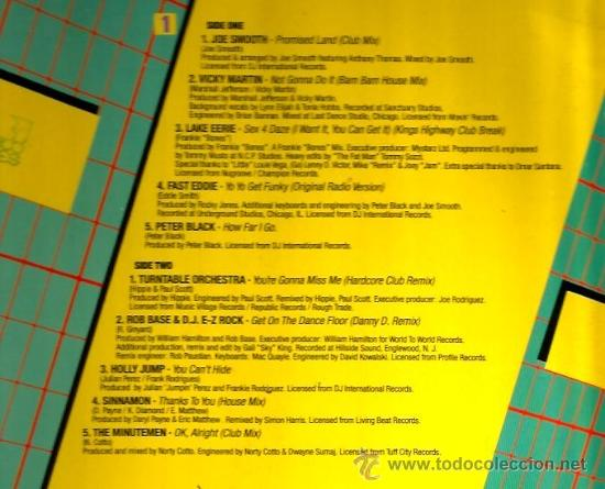Discos de vinilo: DOBLE LP THE FUTURE OF HOUSE ( JOE SMOOTH, VICKY MARTIN, TYREEE, FASTEDDIE, HOLLY JUMP, ETC) - Foto 2 - 35826118