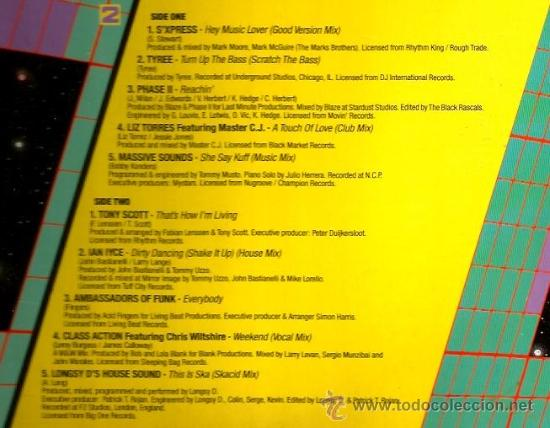 Discos de vinilo: DOBLE LP THE FUTURE OF HOUSE ( JOE SMOOTH, VICKY MARTIN, TYREEE, FASTEDDIE, HOLLY JUMP, ETC) - Foto 3 - 35826118