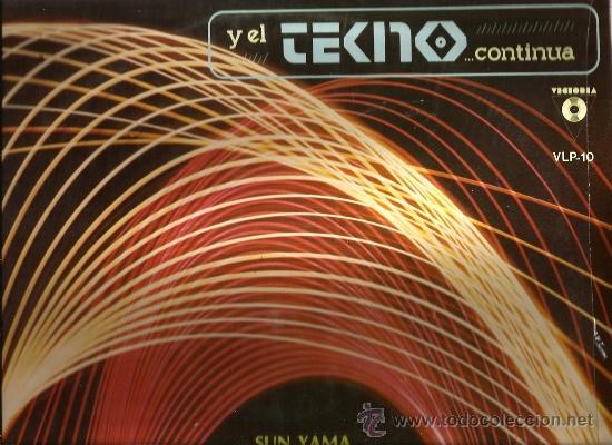 LP Y EL TECNO CONTINUA ( SUN YAMA, JONA LEWIE, THE ASTRONAUTS, POSITIVE NOISE, ETC ) (Música - Discos - LP Vinilo - Techno, Trance y House)