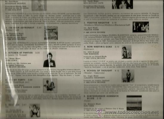 Discos de vinilo: LP Y EL TECNO CONTINUA ( SUN YAMA, JONA LEWIE, THE ASTRONAUTS, POSITIVE NOISE, ETC ) - Foto 2 - 35826254