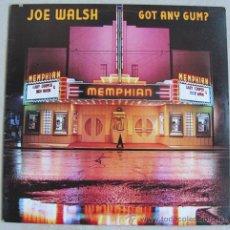 Discos de vinilo: JOE WALSH - GOT ANY GUM? - LP 1987. Lote 35833347