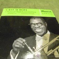 Discos de vinilo: EP CEST SI BON, L.AMSTRONG.. Lote 35843985