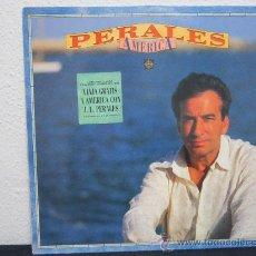 Discos de vinilo: PERALES - AMERICA LP CBS/SONY [1991] VG+/VG++ (CONTIENE ENCARTE). Lote 35845426