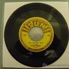 Discos de vinilo: ELVIS PRESLEY ORIGINAL 1955 SUN 217 MEGARARO!!! BUDDY HOLLY EDDIE COCHRAN GENE VINCENT BERRY RICHARD. Lote 35845733