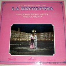 Discos de vinilo: LA REVOLTOSA - LOPEZ SILVA ....ATAULFO ARGENTA - COLUMBIA 1.960. Lote 35868654