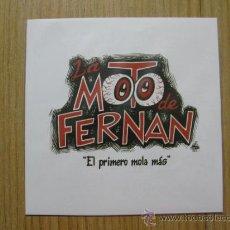 Discos de vinilo: LA MOTO DE FERNAN - EL PRIMERO MOLA MÁS - BLONDES MUST DIE RECS - 7' - SPANISH PUNK - PERROS - NEW. Lote 115231651