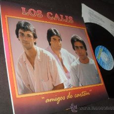 Discos de vinilo: LOS CALIS LP AMIGOS DE CARTON MADE IN SPAIN 1988. Lote 35872011