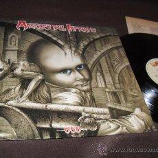 Discos de vinilo: ANGELES DEL INFIERNO LP 666 FIRMADO POR LA BANDA MADE IN SPAIN 1988. Lote 35873064
