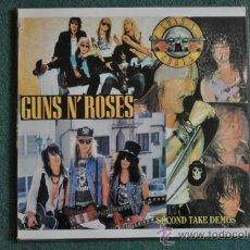 Discos de vinilo: GUNS N' ROSES - SECOND TAKE DEMOS (PIRATA 2 X LP'S). Lote 35874668