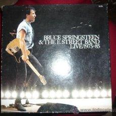 Discos de vinilo: BRUCE SPRINGSTEEN - LIVE 1975-1985 - CAJA 5 LP. Lote 35877199