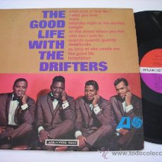 Dischi in vinile: THE DRIFTTERS / THE GOOD LIFE WITH 1965 ( DOO-WOP / ATLANTIC ORIG. EDIT. USA !! EXC !!!. Lote 35877988
