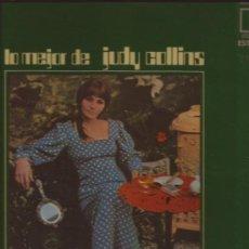 Discos de vinilo: LP-JUDY COLLINS LO MEJOR DE-ELEKTRA HISPAVOX 54102-1970. Lote 35880521