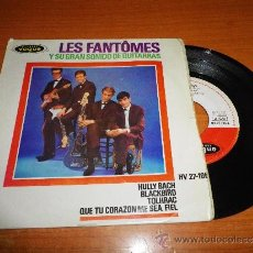 Discos de vinilo: LES FANTOMES HULLY BACH EP DE VINILO DEL AÑO 1963 HECHO EN ESPAÑA CONTIENE 4 TEMAS . Lote 35881968