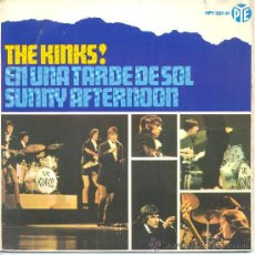 Discos de vinilo: THE KINKS SUNNY AFTERNOON + 3 EP PYE SPAIN 1966 @ . Lote 35883490