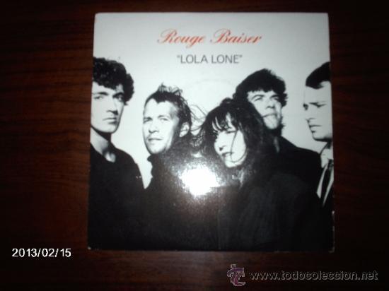 ROUGE BAISER LOLA LONE + 2 (Música - Discos de Vinilo - EPs - Pop - Rock - New Wave Internacional de los 80)