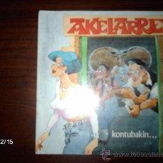 Discos de vinilo: AKELARRE - KONTUBAKIN + AZKENEAN DEUS EZ . Lote 35930157