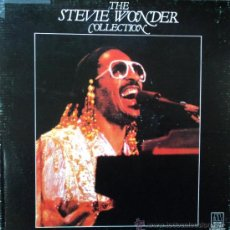Discos de vinilo: STEVIE WONDER - COLLECTION - EDICIÓN DE 1982 DE ESPAÑA - CAJA CON 4 DISCOS. Lote 35985792