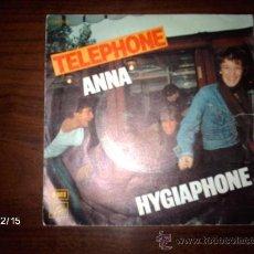Discos de vinilo: TELEPHONE - ANNA + HYGIAPHONE. Lote 36006979