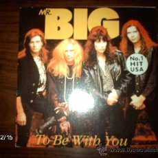 Discos de vinilo: MR. BIG - TO BE WITH YOU + GREEN TINTED SIXTIES MIND . Lote 36007173