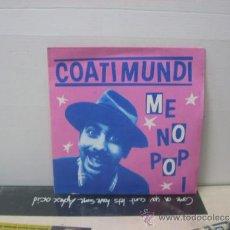 Discos de vinilo: COATI MUNDI - ME NO POP I - PROMO - EDICION ESPAÑOLA - ARIOLA 1981. Lote 112293068