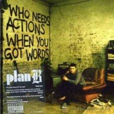 Discos de vinilo: PLAN B / WHO NEEDS ACTIONS 2006 ( DOBLE LP ) !! NUEVO Y PRECINTADO !!!!!!!. Lote 35904382