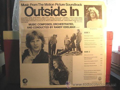 Discos de vinilo: randy edelman / Outside In 1972 !! RARA 1ª EDIC. ORIG USA !! B.S.O. COLLECTOR !!! - Foto 3 - 35904908