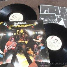 Discos de vinilo: WHITESNAKE DOBLE LP DISCO VINILO LIVE IN THE HEART OF THE CITY MADE IN UK 1980. Lote 35910175