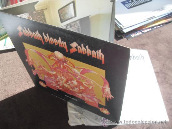 Discos de vinilo: BLACK SABBATH LP Sabbath Bloody Sabbath Made in England 1973 - Foto 2 - 35909342