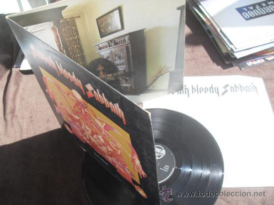 Discos de vinilo: BLACK SABBATH LP Sabbath Bloody Sabbath Made in England 1973 - Foto 4 - 35909342
